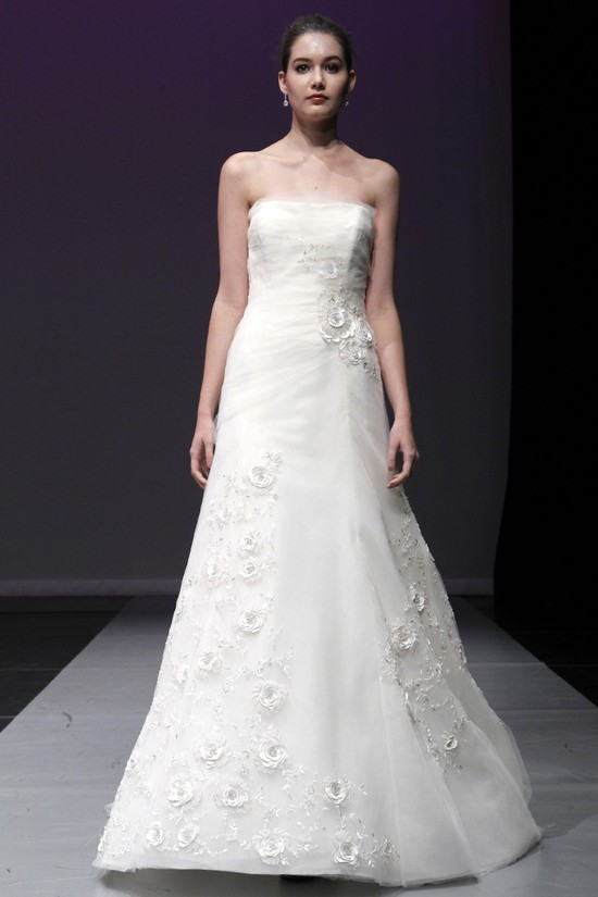 wedding dress rivini bridal fall 2012 chiara