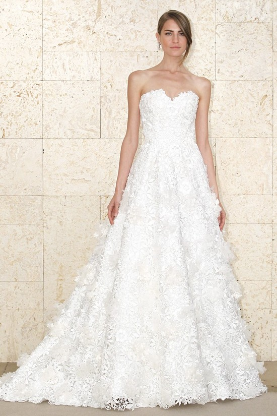 wedding dress oscar de la renta bridal gown spring 2012 6