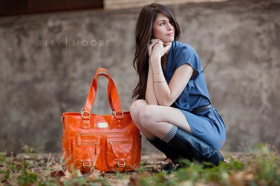 wedding giveaways win a kelly moore bag orange