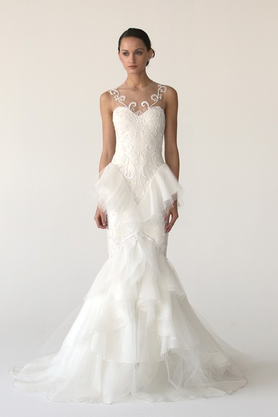 wedding dress marchesa bridal gowns fall 2012 19