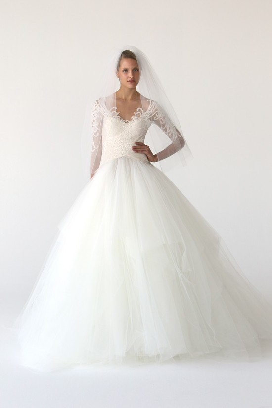 wedding dress marchesa bridal gowns fall 2012 16
