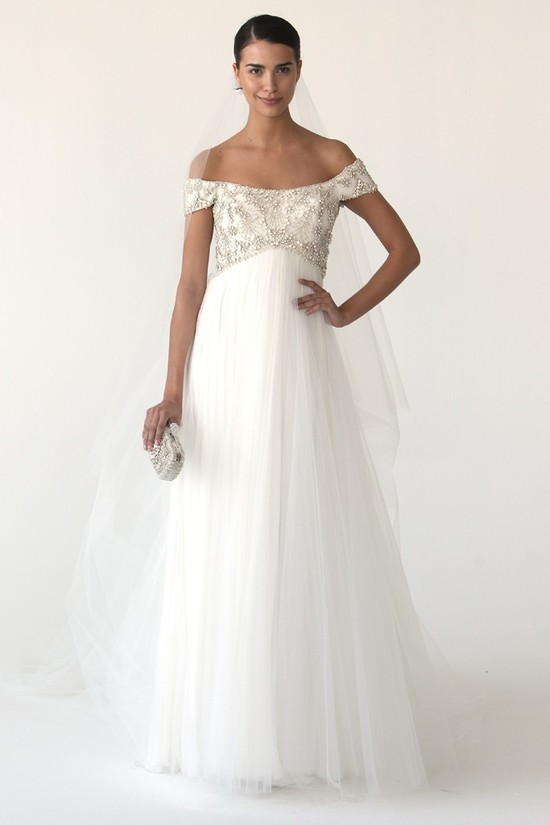 wedding dress marchesa bridal gowns fall 2012 11