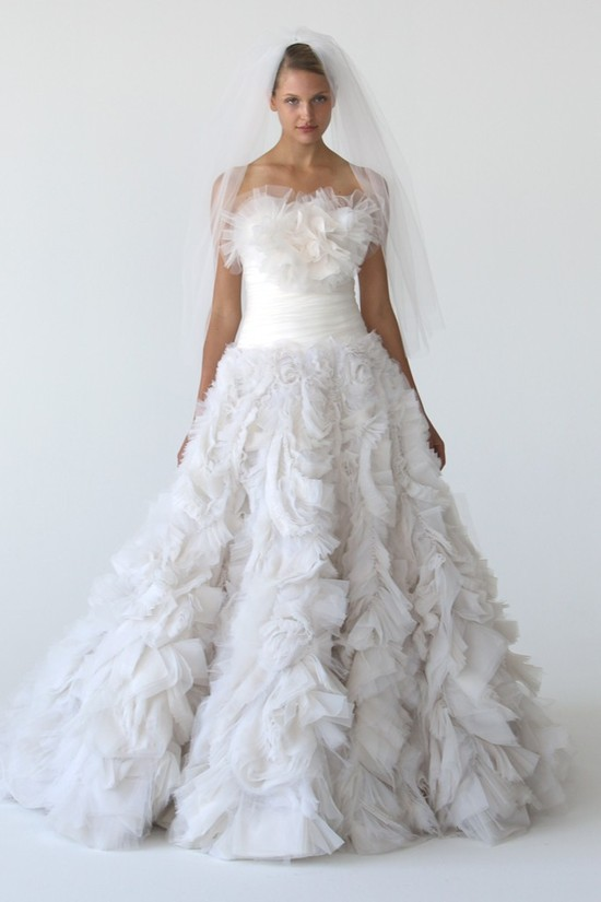 wedding dress marchesa bridal gowns fall 2012 9