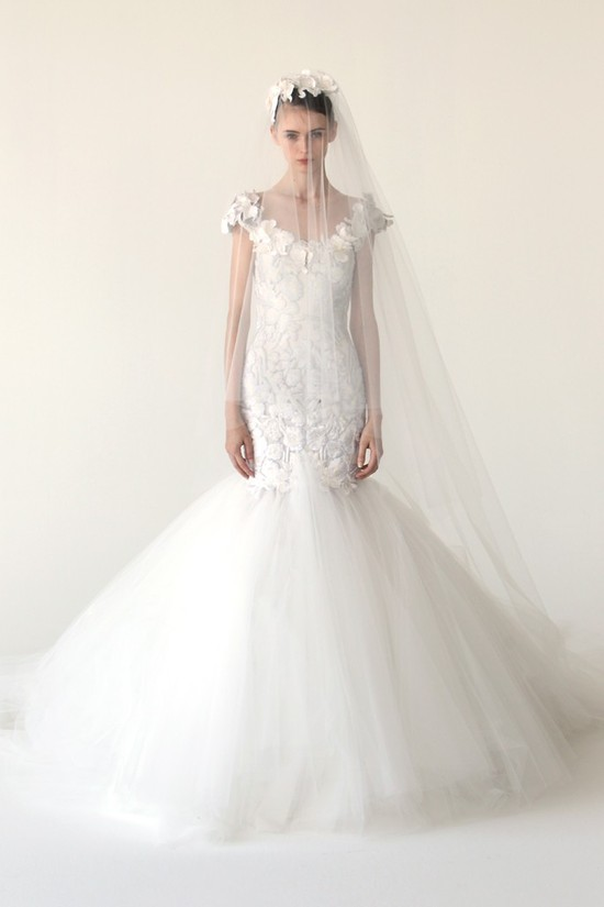 wedding dress marchesa bridal gowns fall 2012 7