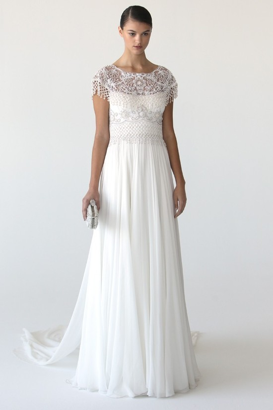 wedding dress marchesa bridal gowns fall 2012 3