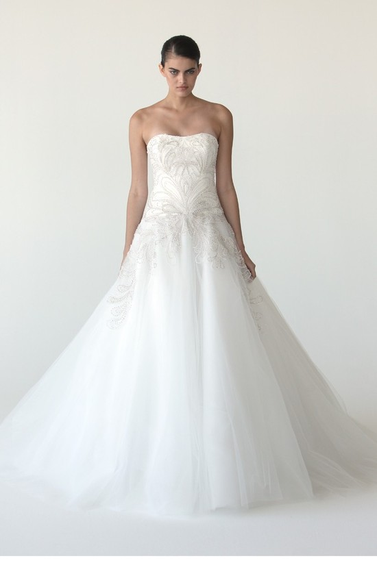 wedding dress marchesa bridal gowns fall 2012 2