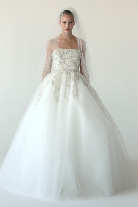 wedding dress marchesa bridal gowns fall 2012 1