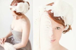 photo of Blooming Blossom bridal headband