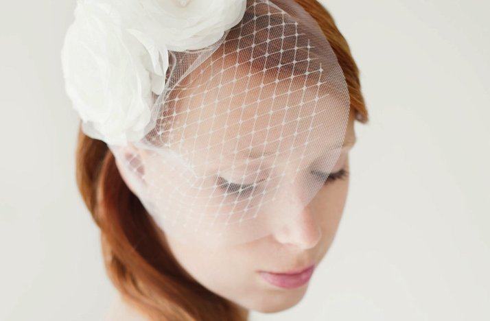 SIBO designs wedding hair accessories bridal veils barrettes headbands 2