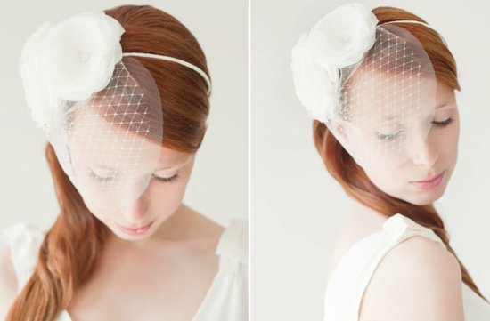 SIBO designs wedding hair accessories bridal veils barrettes headbands 3