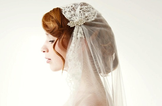 wedding accessories spotlight Etsy bridal headpieces lace tulle veil