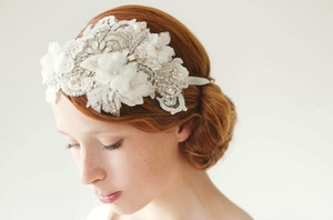 photo of Bridal headpiece by SIBO Designs