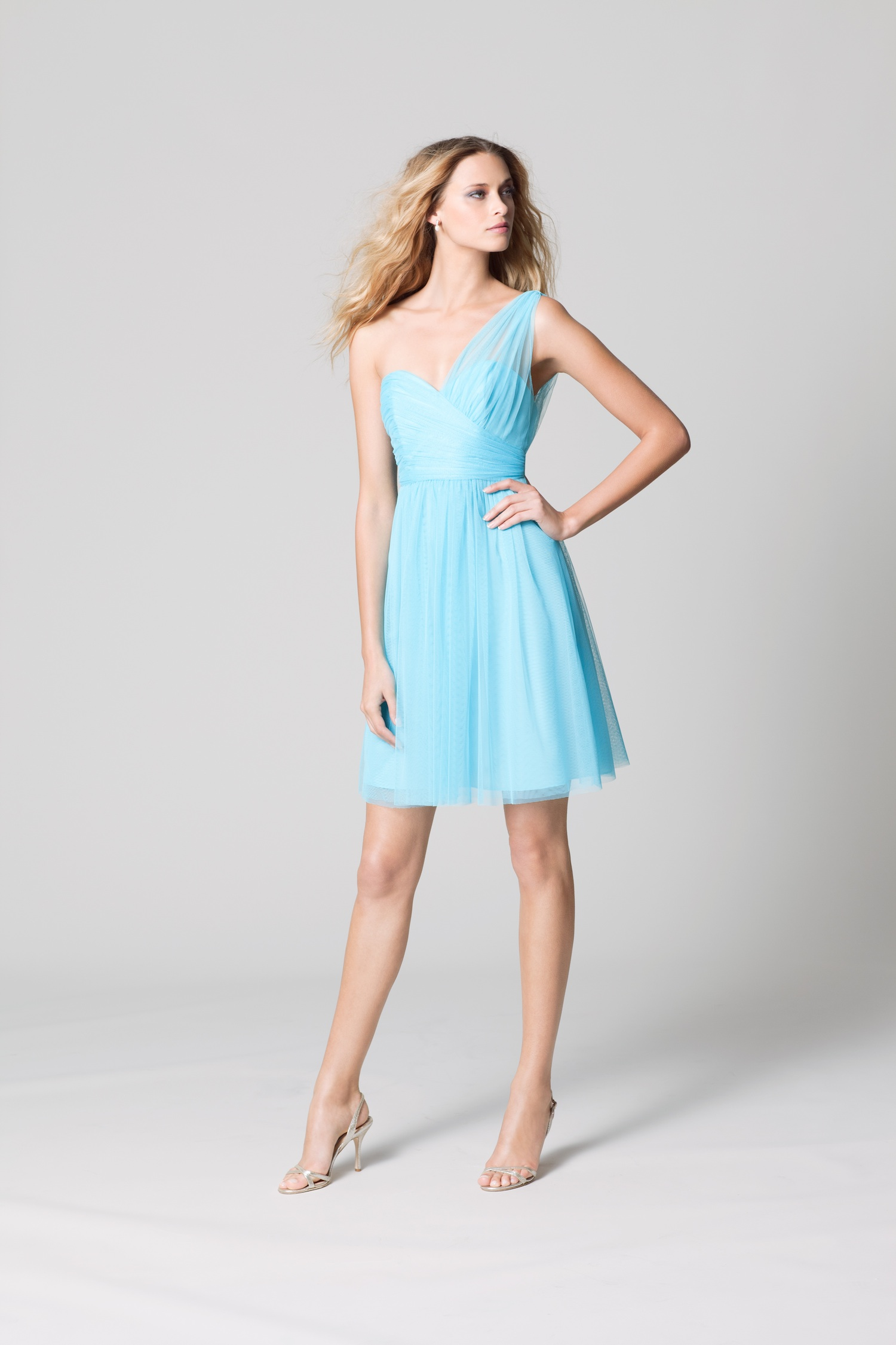 Bridesmaid Dresses Light Blue 113