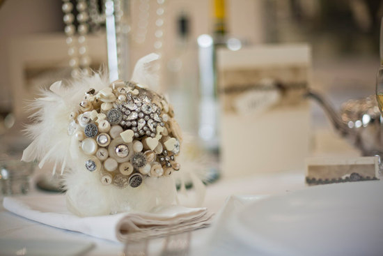 photo of Shabby Chic alternative bridal bouquet