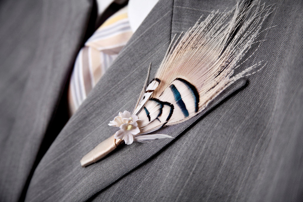 etsy wedding treasures for your handmade wedding glam feathers grooms bout