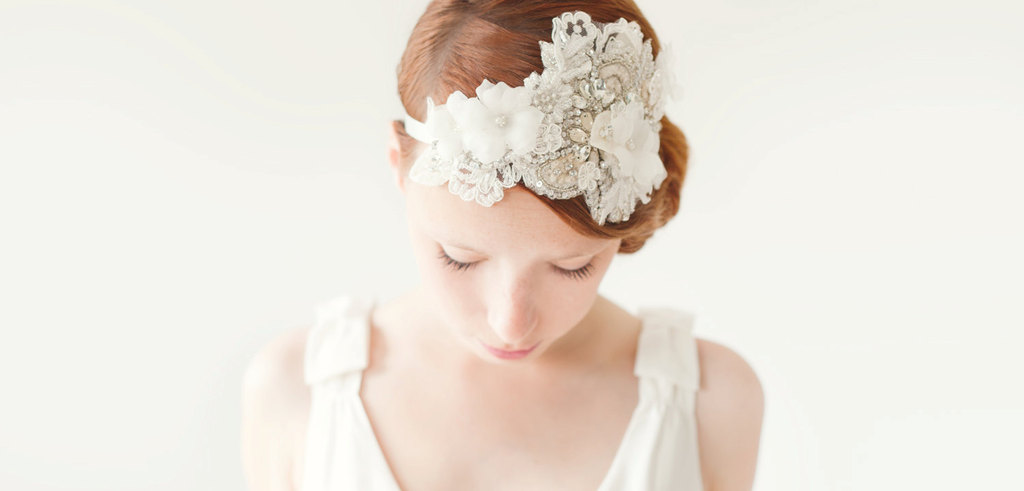 romantic wedding hair accessory SIBO designs bridal hair accessories 2