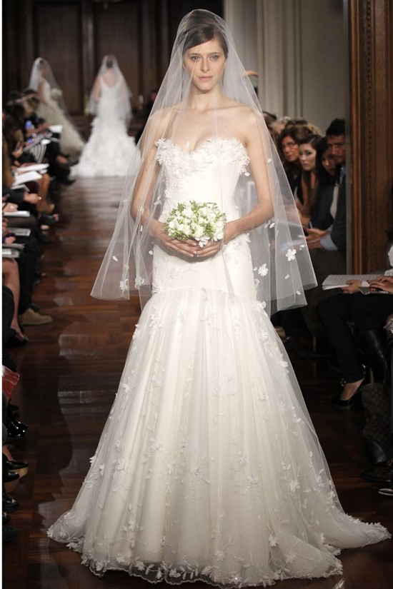photo of wedding dress fall 2012 bridal gowns romona keveza RK137