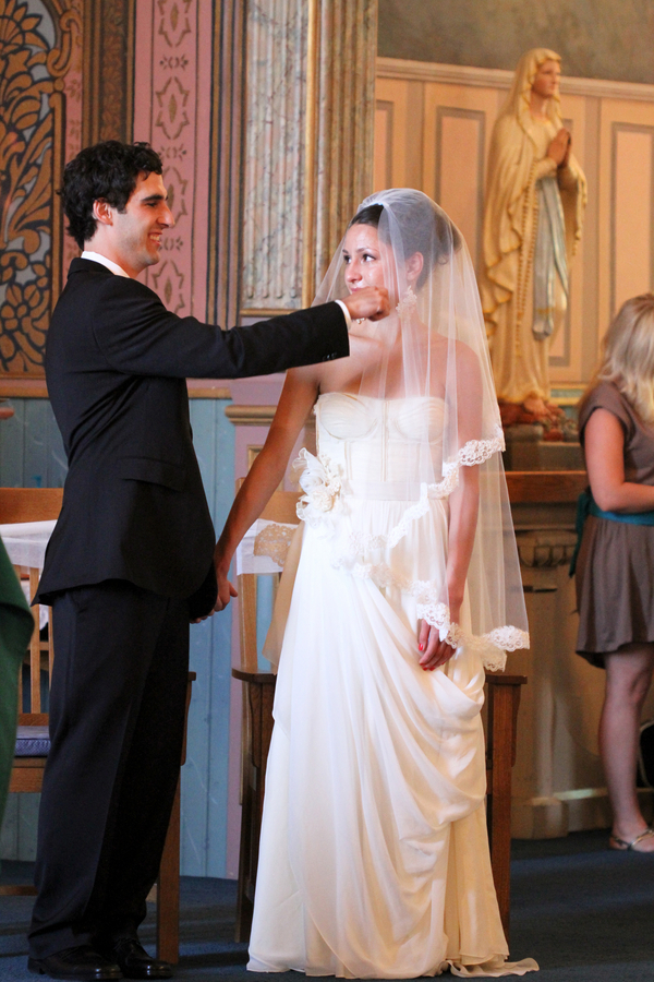 wedding style fashion trends 2013 bridal accessories drop veil 7