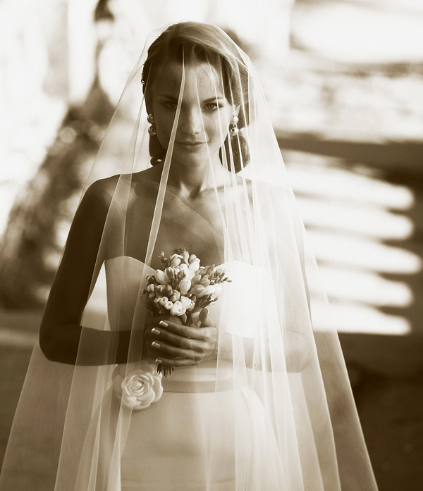 wedding style fashion trends 2013 bridal accessories drop veil 2