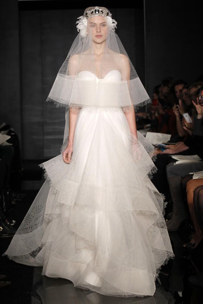 Reem Acra Wedding Gown 002 - Reem Acra Wedding Gown