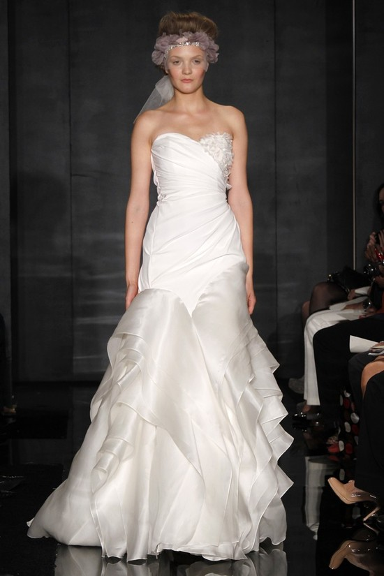 wedding dress reem acra bridal fall 2012 20