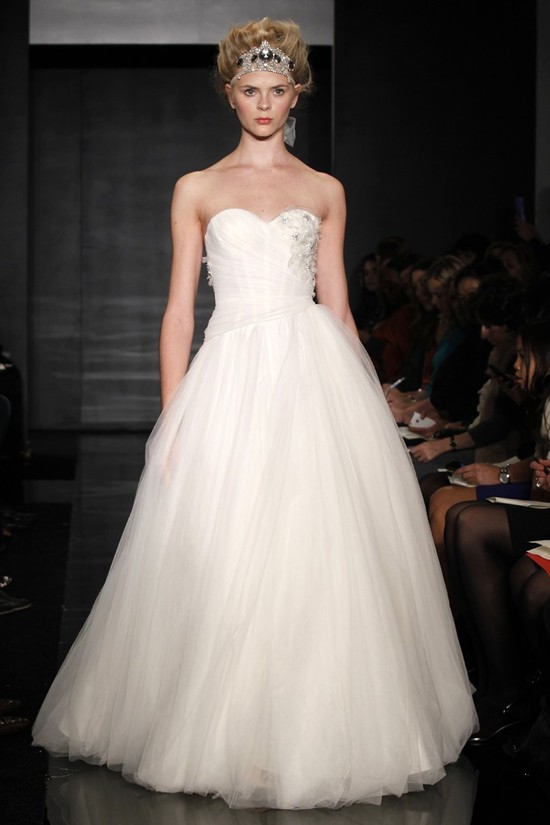wedding dress reem acra bridal fall 2012 19