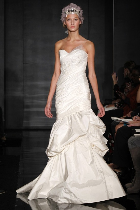 wedding dress reem acra bridal fall 2012 12