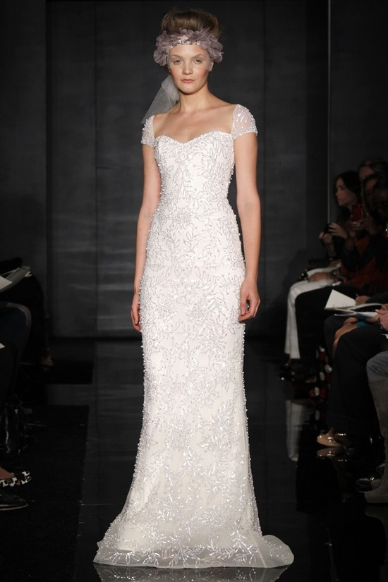 wedding dress reem acra bridal fall 2012 8