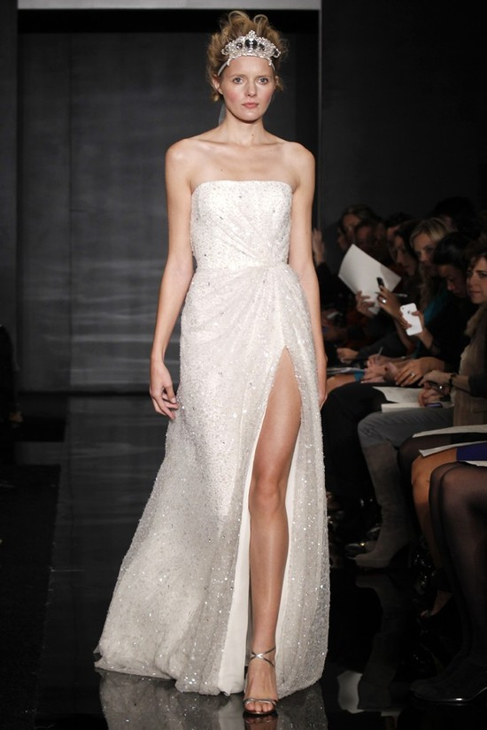 wedding dress reem acra bridal fall 2012 6