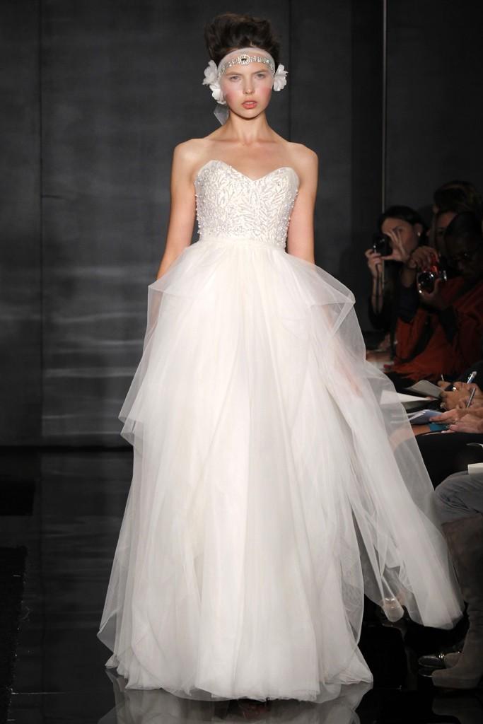 Reem Acra Wedding Gown 018 - Reem Acra Wedding Gown