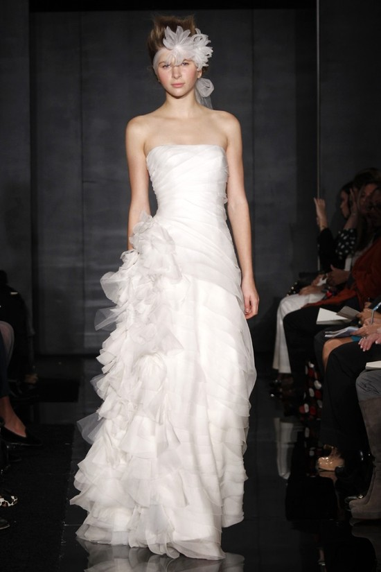 wedding dress reem acra bridal fall 2012 1