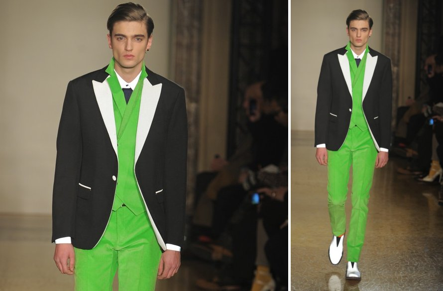 suits for grooms unique grooms attire Moschino 2