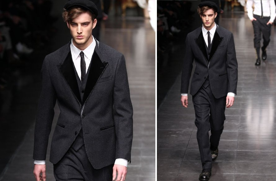 statement suits for grooms unique grooms attire Dolce Gabbana 2