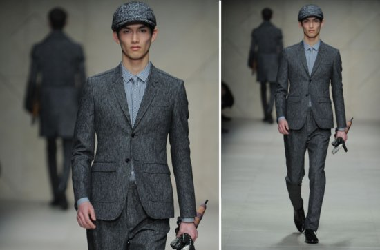 statement suits for grooms unique grooms attire Burberry Prorsum 2