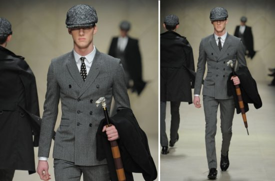 statement suits for grooms unique grooms attire Burberry Prorsum