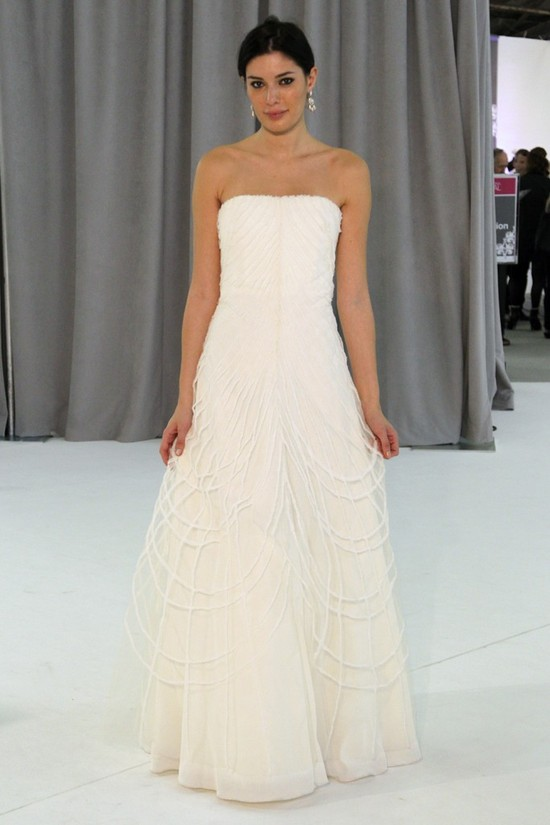 wedding dress fall 2012 bridal gowns nicole miller 8