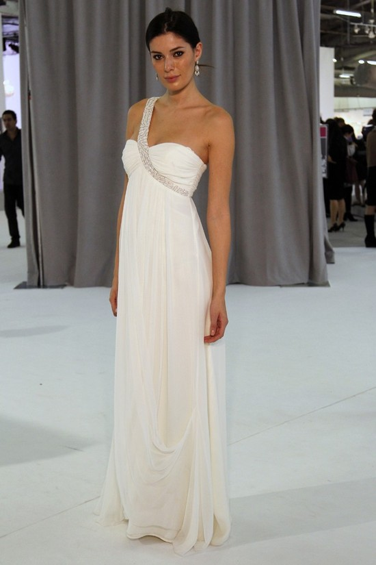 wedding dress fall 2012 bridal gowns nicole miller 3