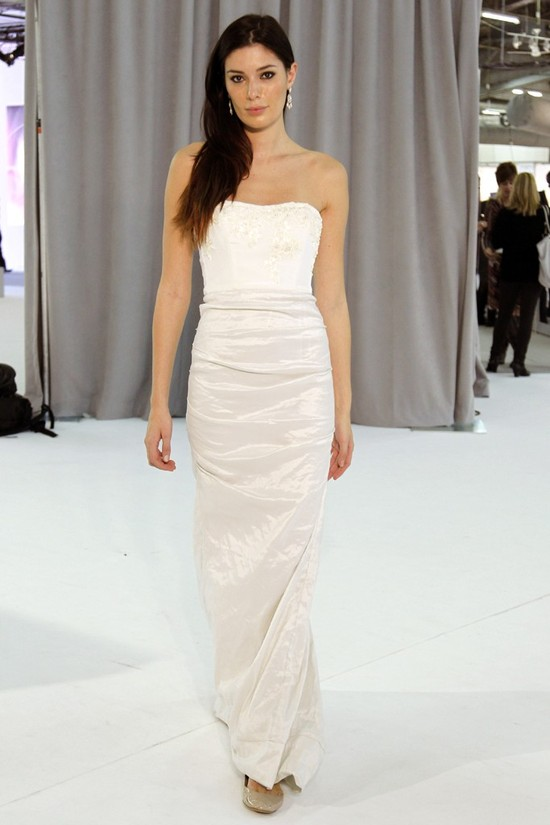 wedding dress fall 2012 bridal gowns nicole miller 1