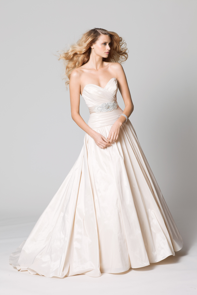 photo of Easy on the Budget, Easy on the Eyes: WTOO Wedding Dresses by Watters