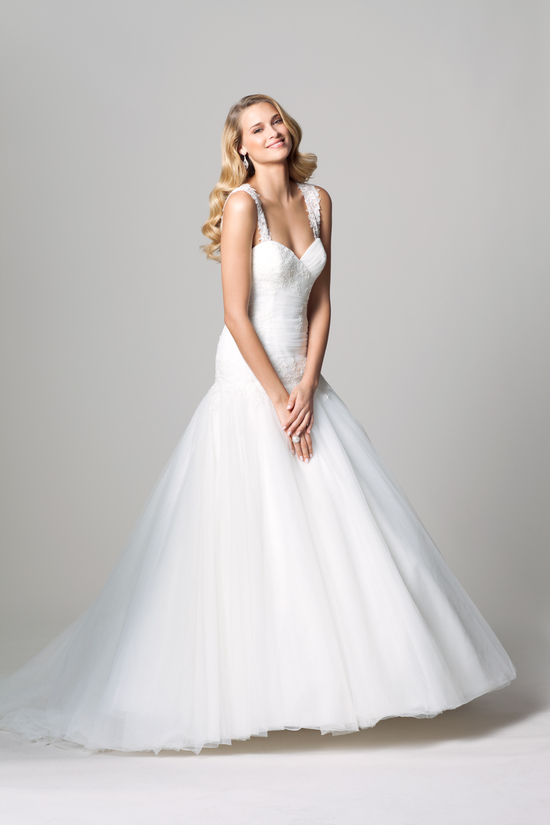fall 2012 wedding dress WTOO bridal gown by watters 1