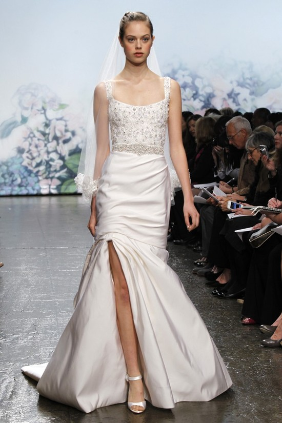 wedding dress monique lhullier bridal gowns fall 2012 sterling