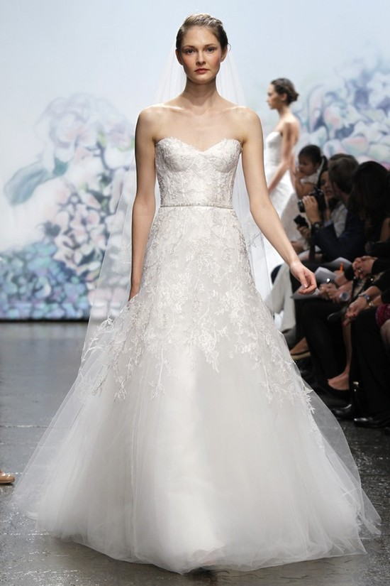 wedding dress monique lhullier bridal gowns fall 2012 sentimental