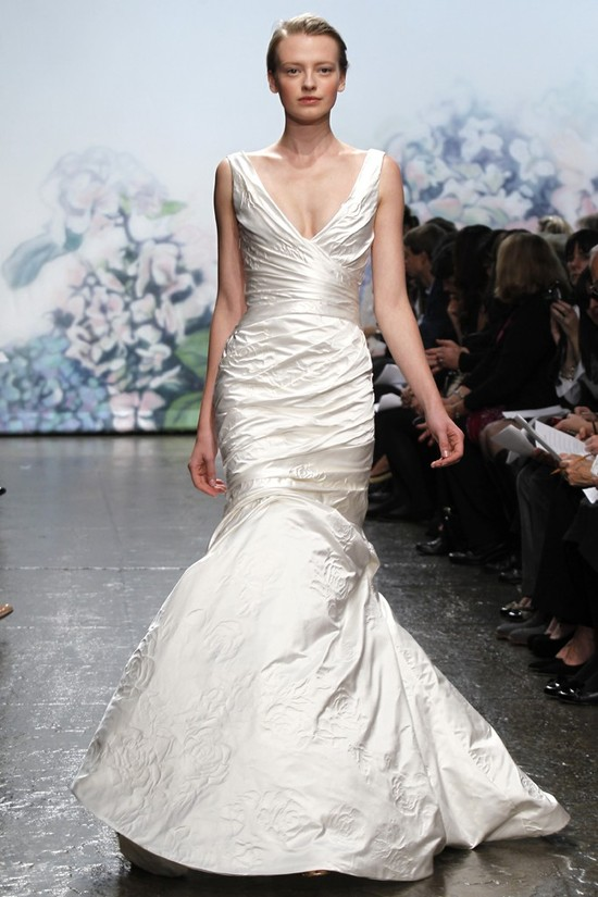 wedding dress monique lhullier bridal gowns fall 2012 rosie