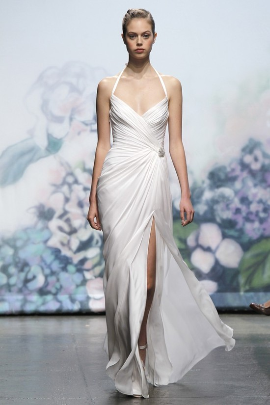 wedding dress monique lhullier bridal gowns fall 2012 monroe