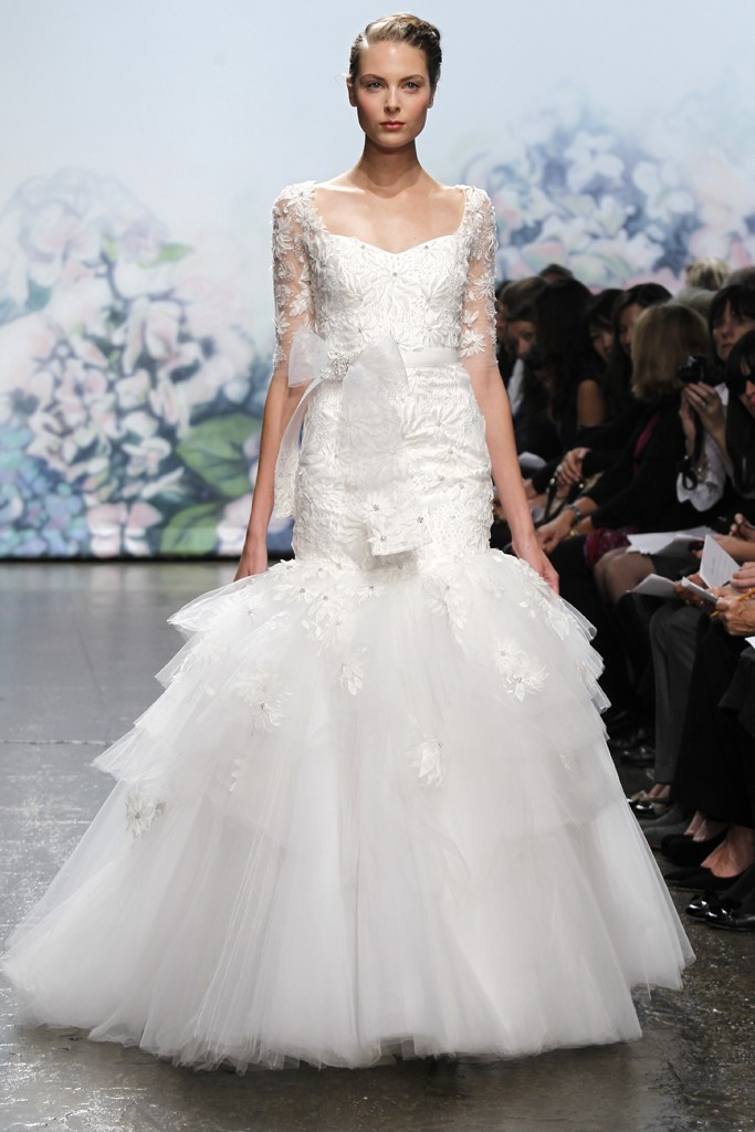 wedding dress monique lhullier bridal gowns fall 2012 moment