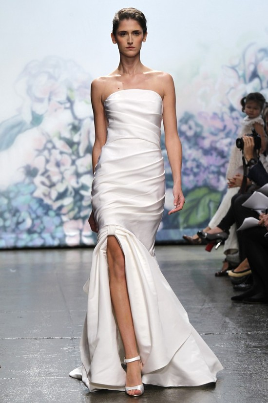 wedding dress monique lhullier bridal gowns fall 2012 honor