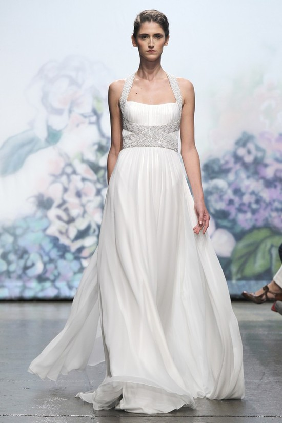 wedding dress monique lhullier bridal gowns fall 2012 holiday