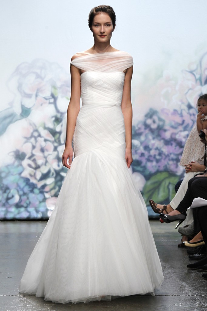 wedding dress monique lhullier bridal gowns fall 2012 emotion