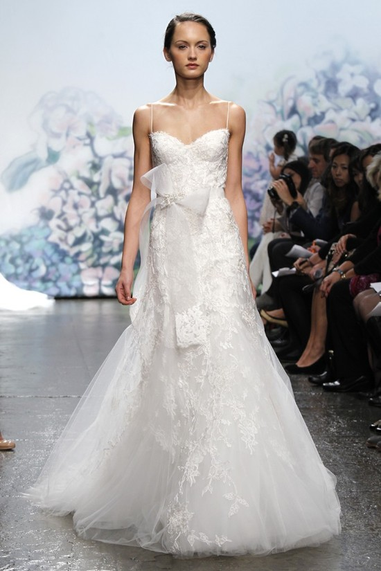 wedding dress monique lhullier bridal gowns fall 2012 cherish