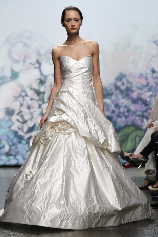 wedding dress monique lhullier bridal gowns fall 2012 beloved
